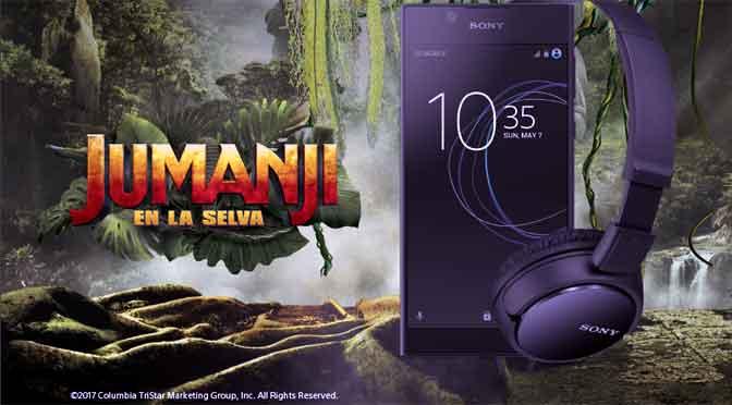 Sony Mobile lanza promoción por Jumanji en locales de Claro