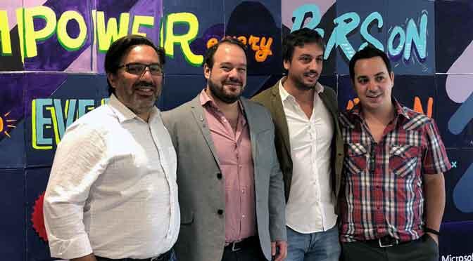Microsoft lanza un plan para impulsar «startups» en la Argentina