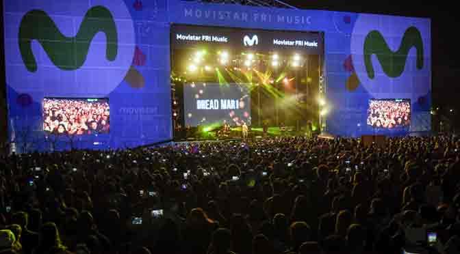 Más de 25 mil personas disfrutaron del Movistar Fri Music en Neuquén