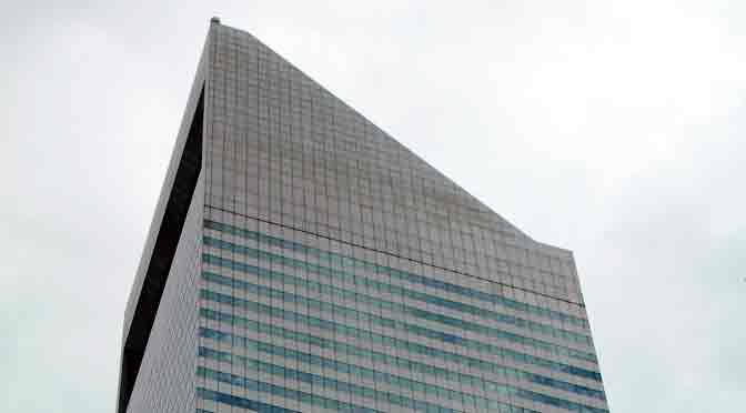El Citigroup Center, uno de los rascacielos más singulares de New York