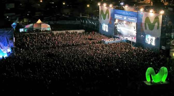 Más de 30.000 personas en el Movistar Fri Music en Bahía Blanca