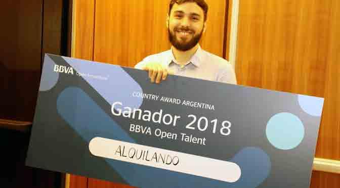 Alquilando ganó la edición argentina del BBVA Open Talent