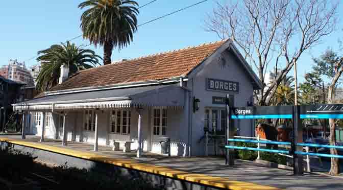 La estación del abuelo de Jorge Luis Borges, desde una Sony A6500
