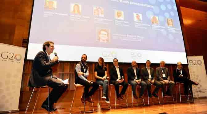 Empresas iniciales de Wayra participan en panel de emprendedores del G20