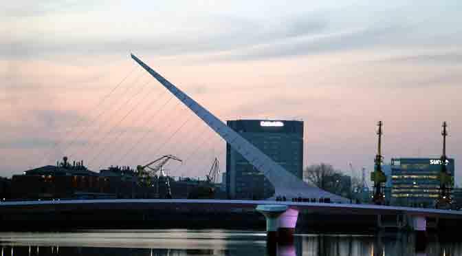 El puente de la mujer en Buenos Aires desde una Sony A6500