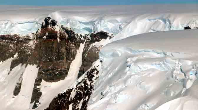 La Antártida retratada por la NASA