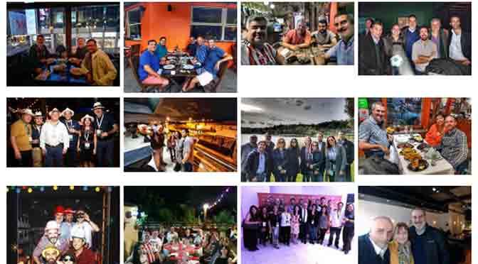 """Mi año 2018 resumido en 30 """"selfies"""" con amigos y colegas"""