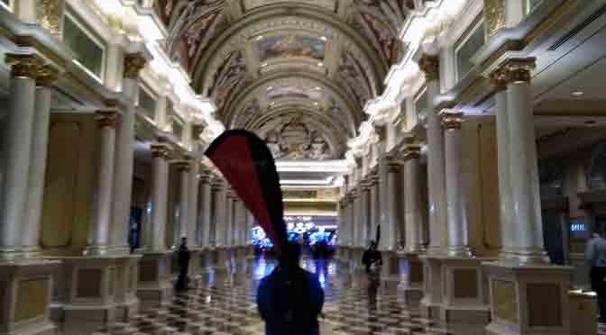 El hotel The Venetian de Las Vegas, en 14 fotos de un teléfono Nokia 6.1