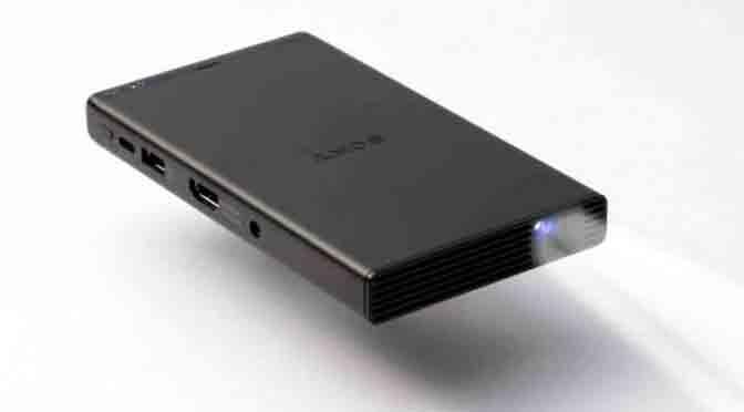 Sony MP-CD1, proyector que casi entra en un bolsillo