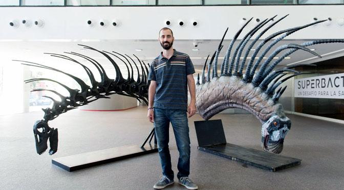 Descubren un dinosaurio con espinas en su lomo y cuello en Neuquén