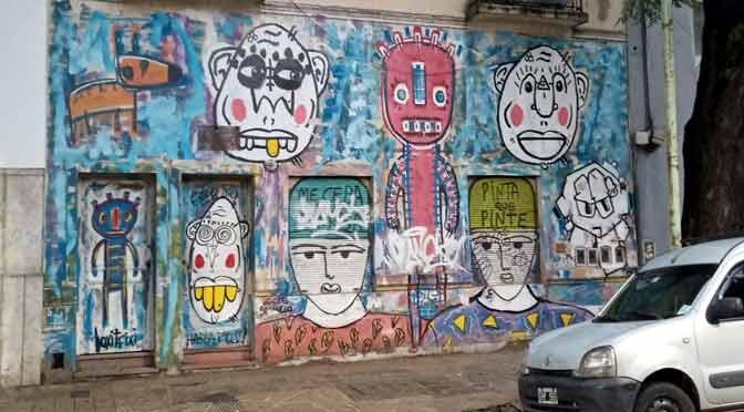Murales en Buenos Aires, desde un móvil con MediaTek Helio P60