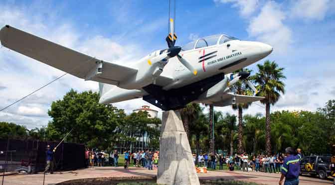 Inauguran en Campana un monumento a los héroes de la guerra por las islas Malvinas