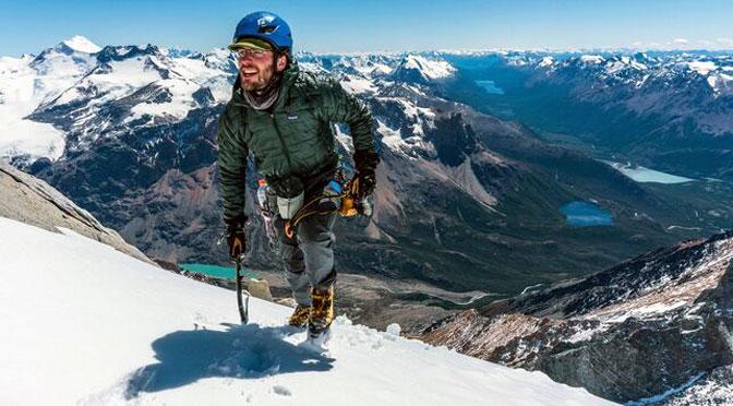 Un escalador logra subir y bajar 1500 metros sin protección en el Fitz Roy