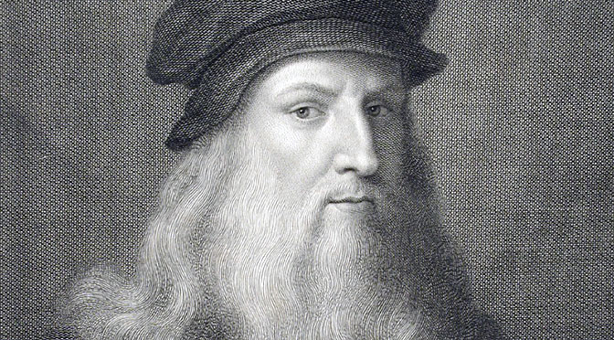 Un estudio concluye que Leonardo Da Vinci era ambidiestro