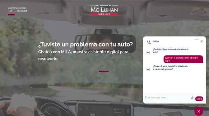 Mila, un «chatbot» de Mc Luhan Consulting para impulsar las ventas