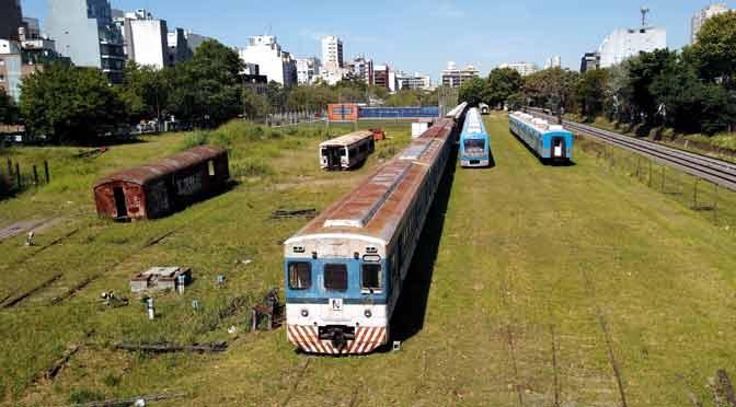 Últimas imágenes de la playa ferroviaria de cargas de Colegiales