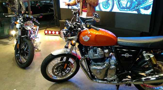 Las motos Twins de Royal Enfield llegan a la Argentina
