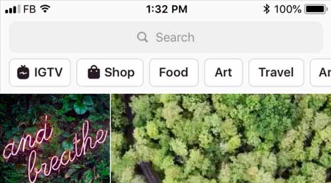 Instagram renueva sus diseños de exploración