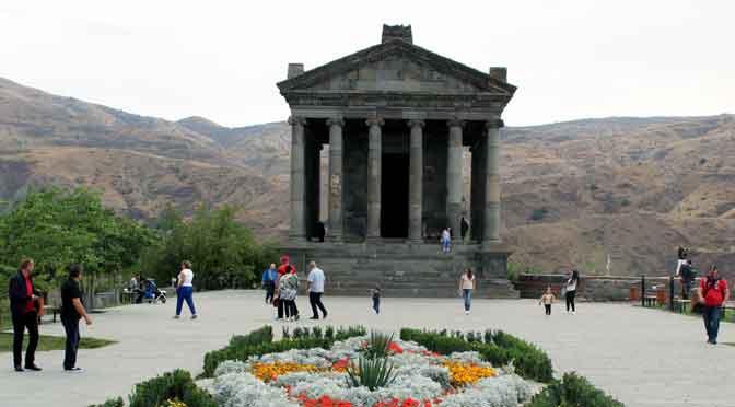 Garni, el único templo de la Grecia clásica en Armenia y el Cáucaso