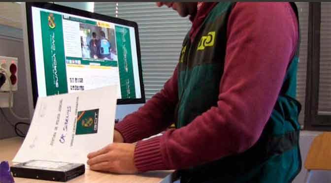Detienen al mayor estafador informático de España, un hombre de 23 años