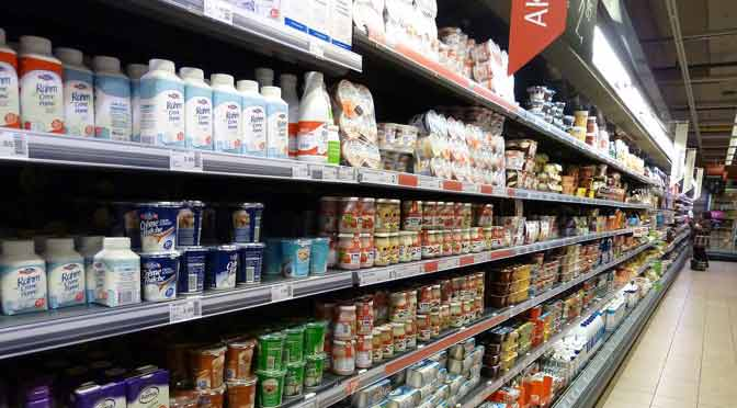 Alimentos de la canasta básica aumentaron casi 61% en un año