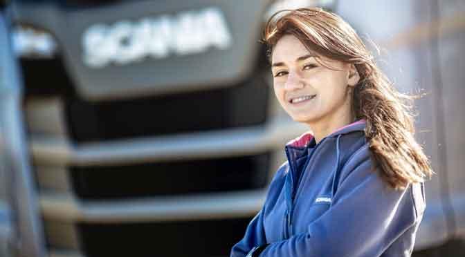 Más de 700 mujeres se postulan para programa «Conductoras» de Scania