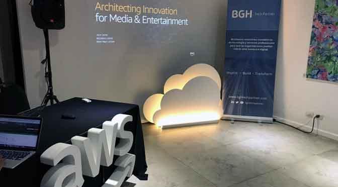 BGH Tech Partner y AWS explican transformación digital en medios y entretenimiento