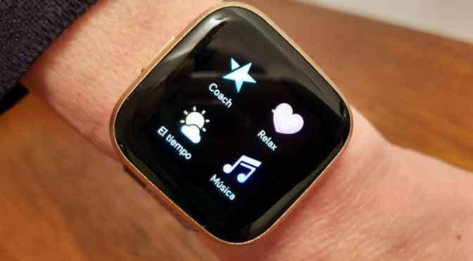 Fitbit Versa 2: un reloj «inteligente» con batería que no se apagará