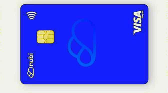 Nubi suma a sus servicios una tarjeta Visa prepaga