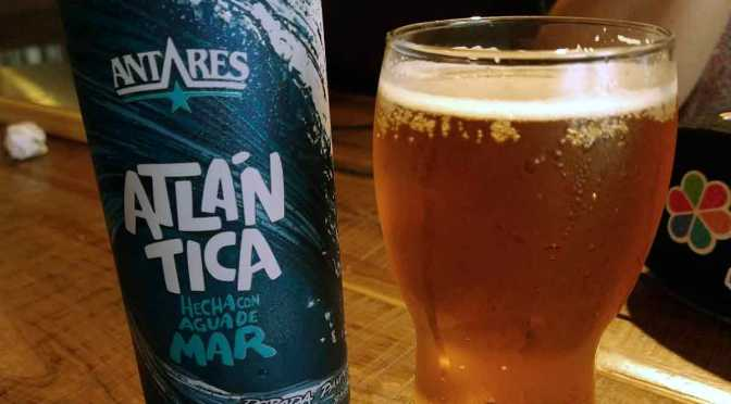 Atlántica, la cerveza de Antares elaborada a partir de agua de mar