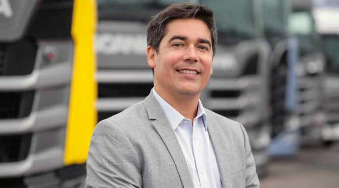 Alejandro Pazos, nuevo director de Marketing de Scania Argentina