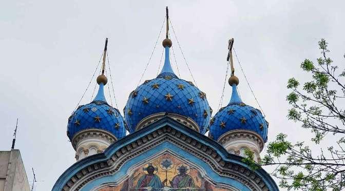 Iglesia ortodoxa rusa de la calle Brasil, enclave de Moscú en Buenos Aires