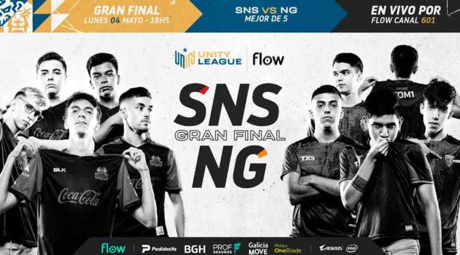 Sinisters y Nocturns Gaming jugará la final de la Unity League Flow