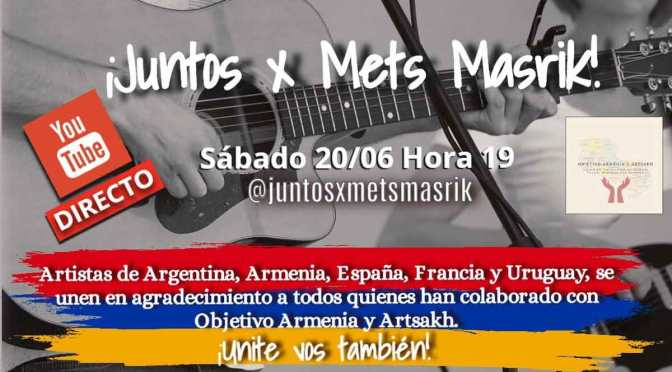 Festival solidario de música armenia y argentina a través de Internet