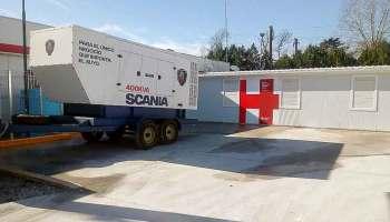 Scania generador energía