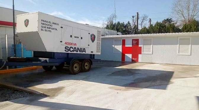 Scania provee energía a hospitales del Gran Buenos Aires