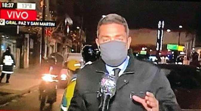 Cronistas de la pandemia en la Argentina: Christian Balbo