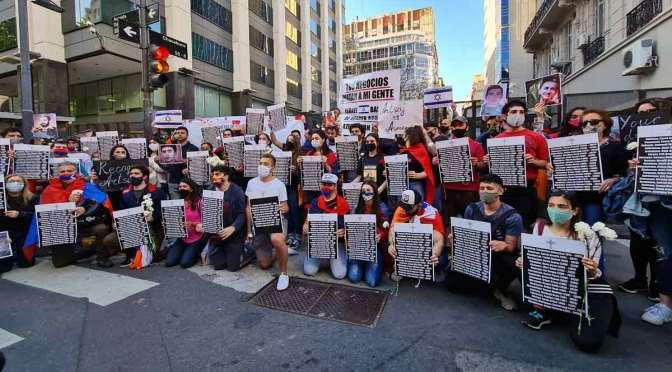 Marcha armenia en Argentina contra ventas de Israel a Azerbaiyán