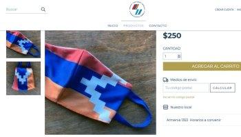 Fondo Armenia barbijo Artsaj