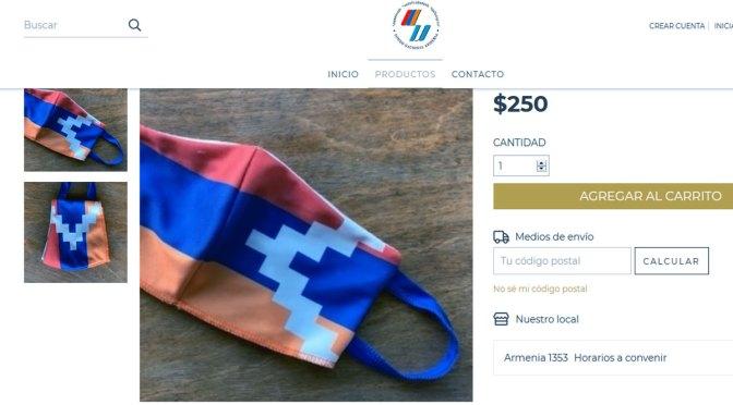 Fondo Armenia ayuda a Artsaj en su tienda en línea