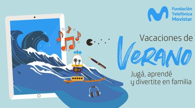 Actividades educativas en verano: propuestas de la Fundación Telefónica