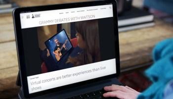 Premios Grammy e IBM Watson