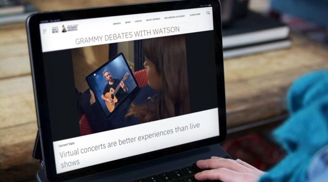 Premios Grammy: IBM lanza experiencia digital para los fans
