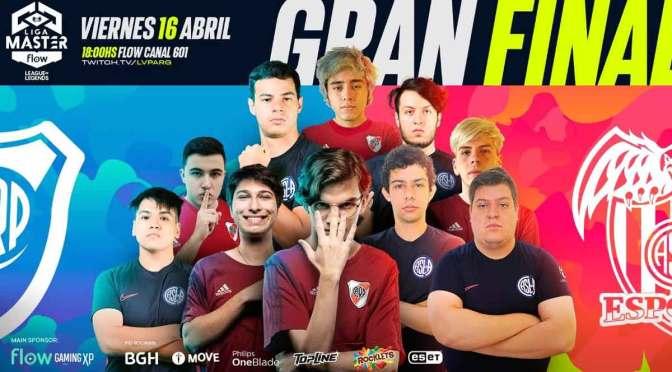 River Plate Gaming y CASLA Esports jugarán la final de la Liga Master Flow