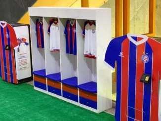 Bahia lança máquina de vender camisas