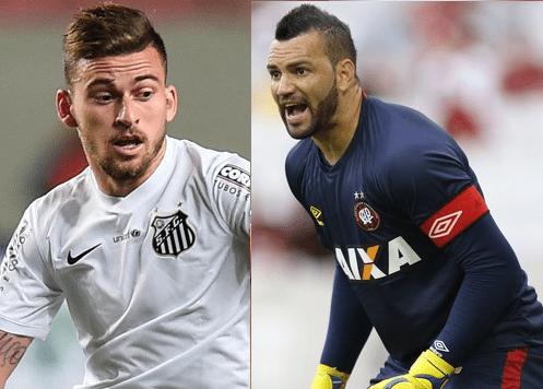 Lucas Lima e Weverton no Palmeiras em 2018 — Bomba