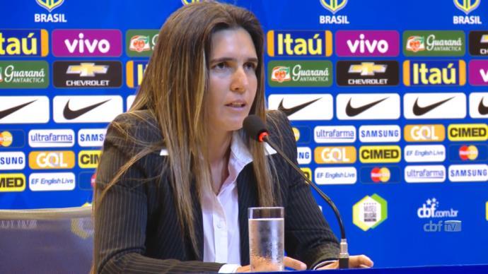 Emily Lima não comanda mais time feminino do Brasil
