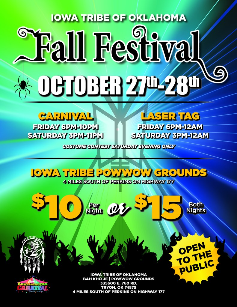 Fall Festival - Carnival and Laser Tag 2017 with times and prices - FINAL