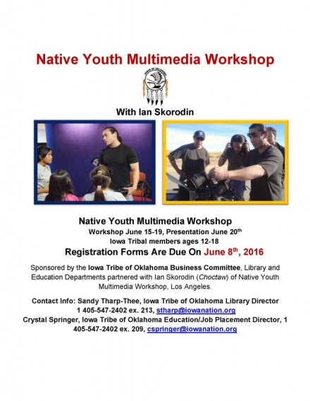Final Native Youth Multimedia Workshop Flyer 2016_Page_1