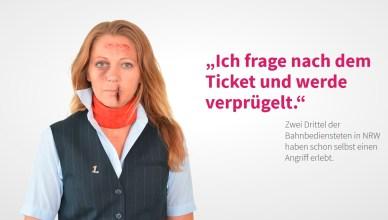 """""""Gefahrenzone Öffentlicher Dienst"""" ist eine Kampagne der Deutschen Beamtenbund-Jugend NRW. (Screenshot/Foto: © dbb jugend nrw)"""